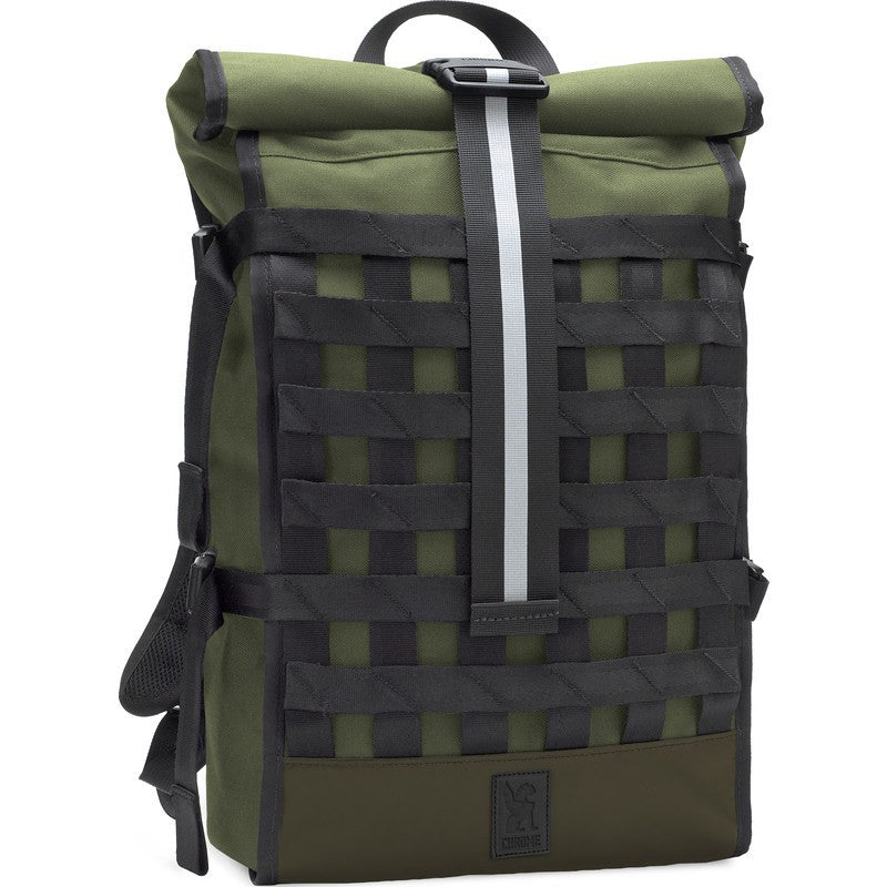 Chrome Waxed Poly Ltd Barrage Cargo Backpack | Olive