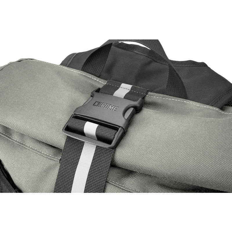 Chrome Waxed Poly Ltd Barrage Cargo Backpack | Grey