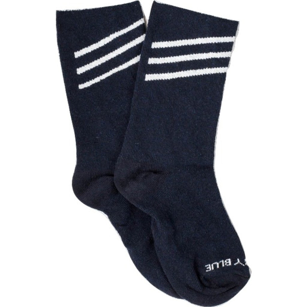 United By Blue Bartrams Socks | Navy Slant LRG 00A-1BS-NV4