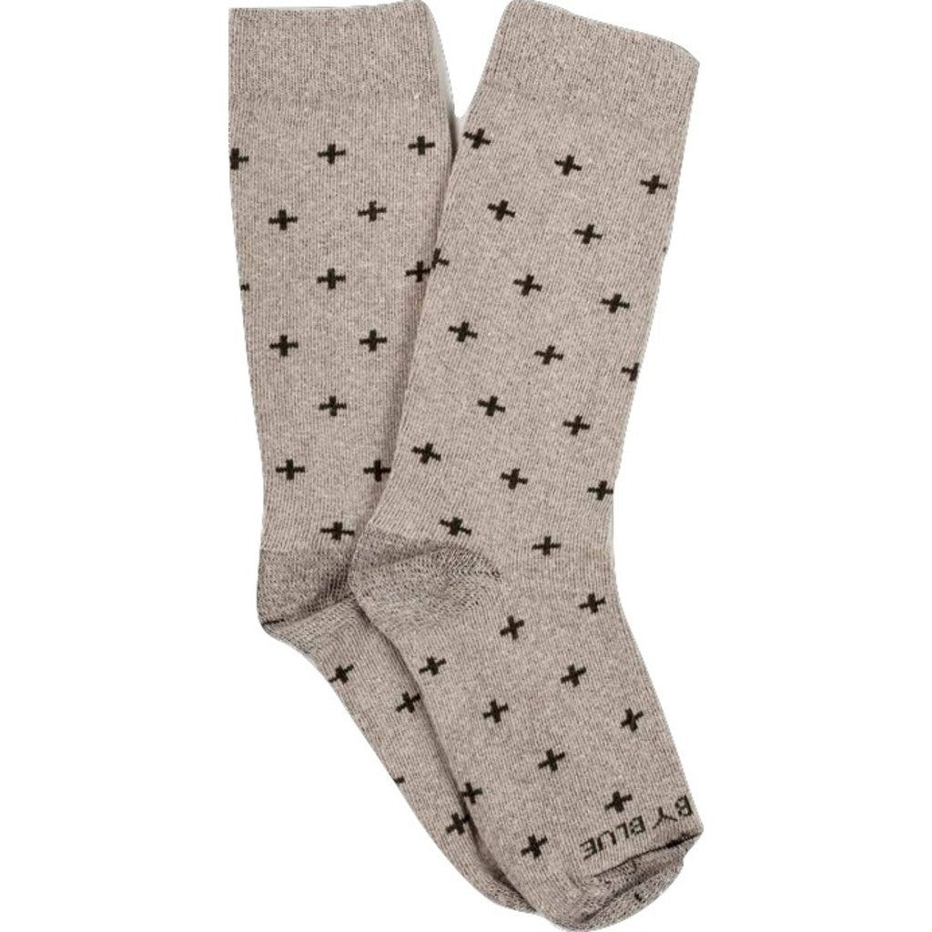 United By Blue Bartrams Socks | Oatmeal Cross SML 00A-1BS-OT2 // LRG 00A-1BS-OT4