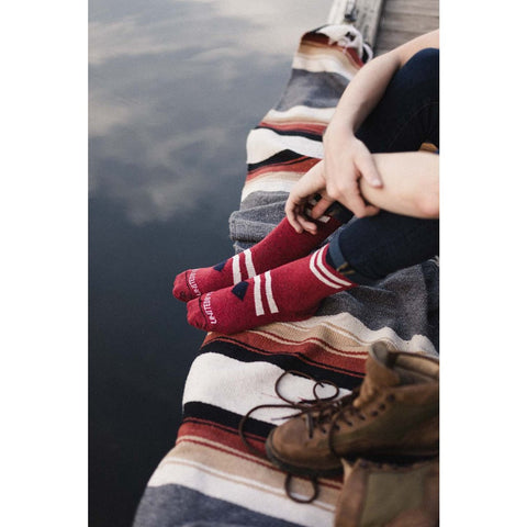 United By Blue Bartrams Socks | Red Diamond SML 00A-1BS-RD2 // LRG 00A-1BS-RD4