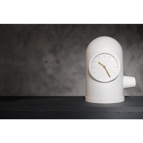 LEFF amsterdam Base Table Clock | White LT50001