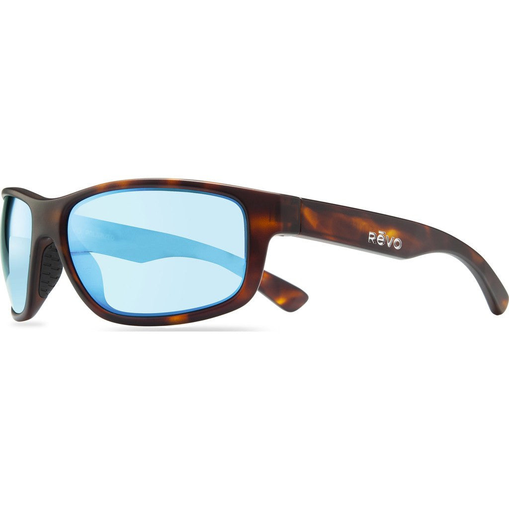 Revo Eyewear Baseliner Matte Dark Tortoise Sunglasses | Blue Water RE 1006 02 BL