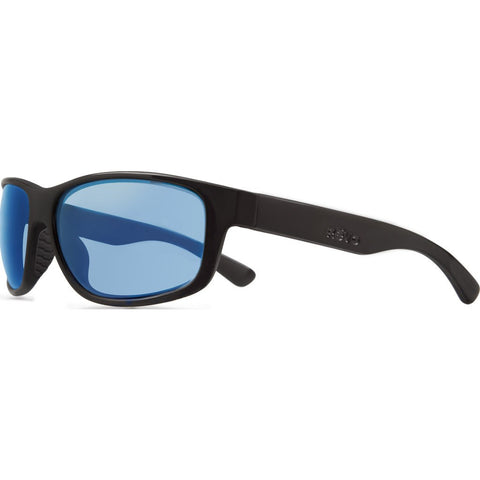 Revo Eyewear Baseliner Matte Black Sunglasses | Blue Water RE 1006 01 BL
