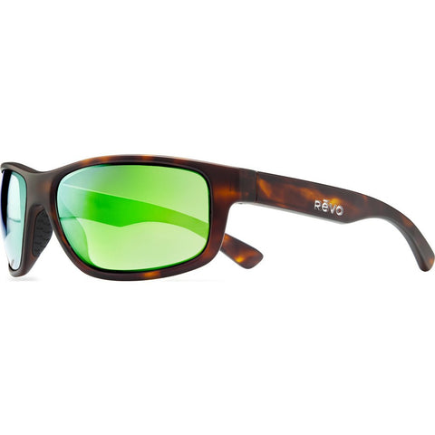 Revo Eyewear Baseliner Matte Tortoise Sunglasses | Green Water RE 1006 02 GN