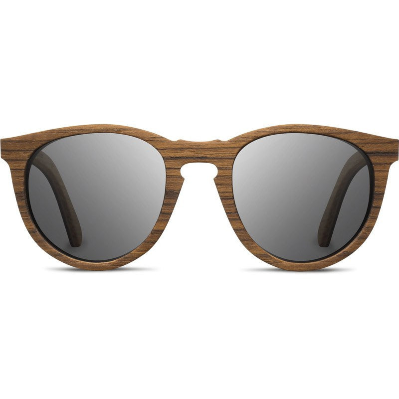 Shwood Belmont Select Sunglasses | Teak & Oak / Grey Polarized