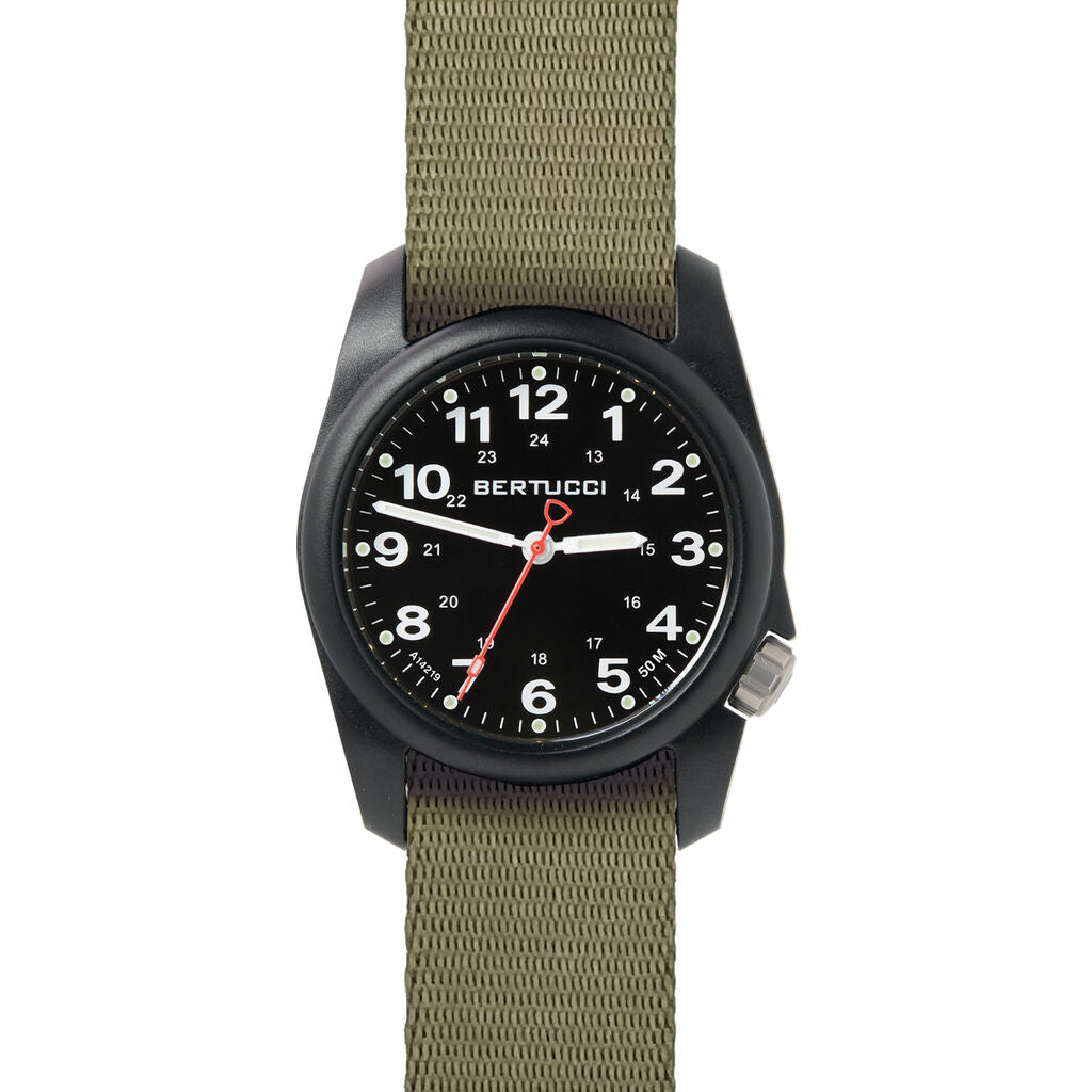 Bertucci A-1R Field Comfort Watch with Drab Comfort Webb band