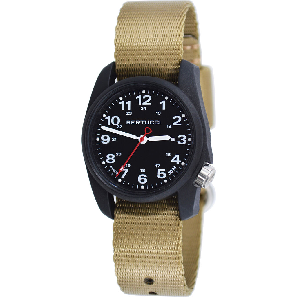 Bertucci A-1R Comfort Field Watch | Webb Band