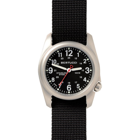 Bertucci A-2S Field Watch | Black/Black