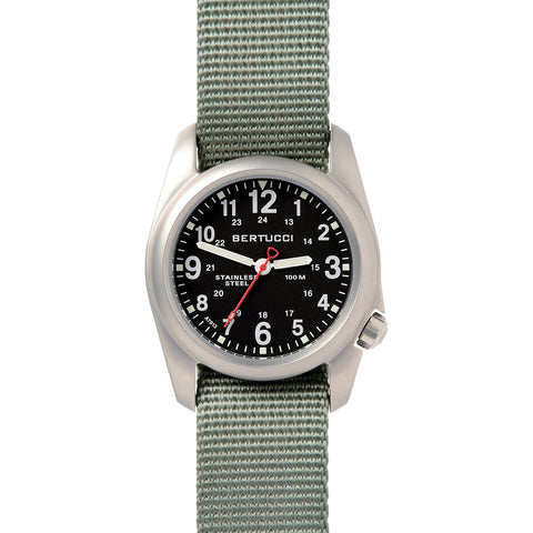 Bertucci A-2S Field Watch | Black/Drab