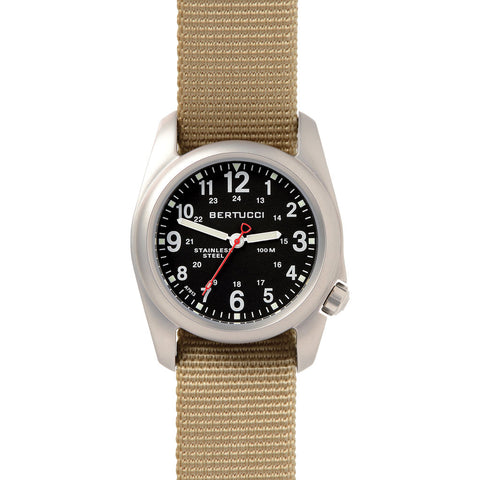 Bertucci A-2S Field Watch | Black/Khaki