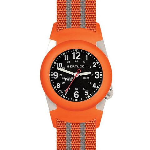 Bertucci A-2S Field Watch | Black/Safety Orange