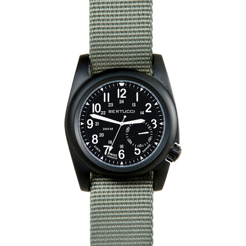 Bertucci A-2S Ballista Watch | Black Nylon