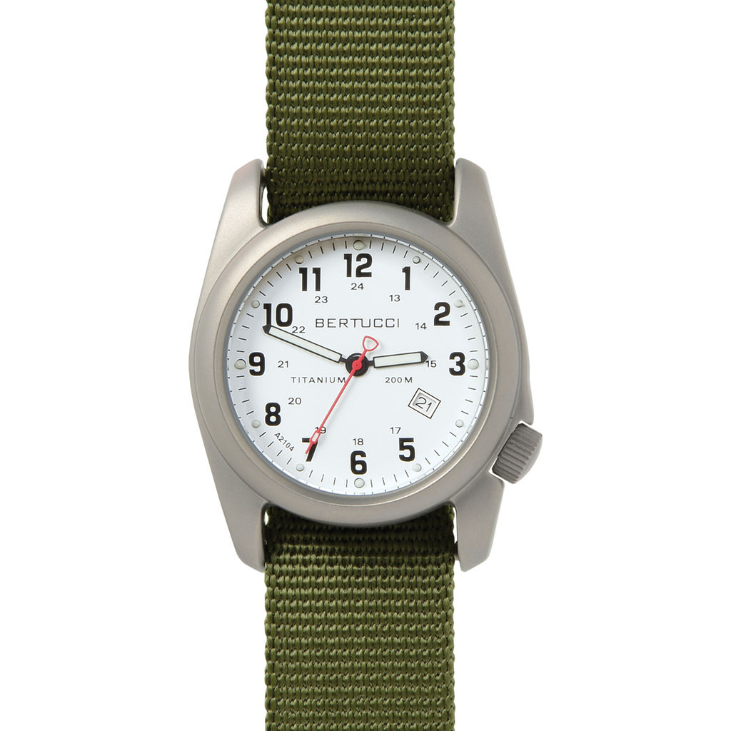Bertucci A-2T Original Classics Watch | White/Forest