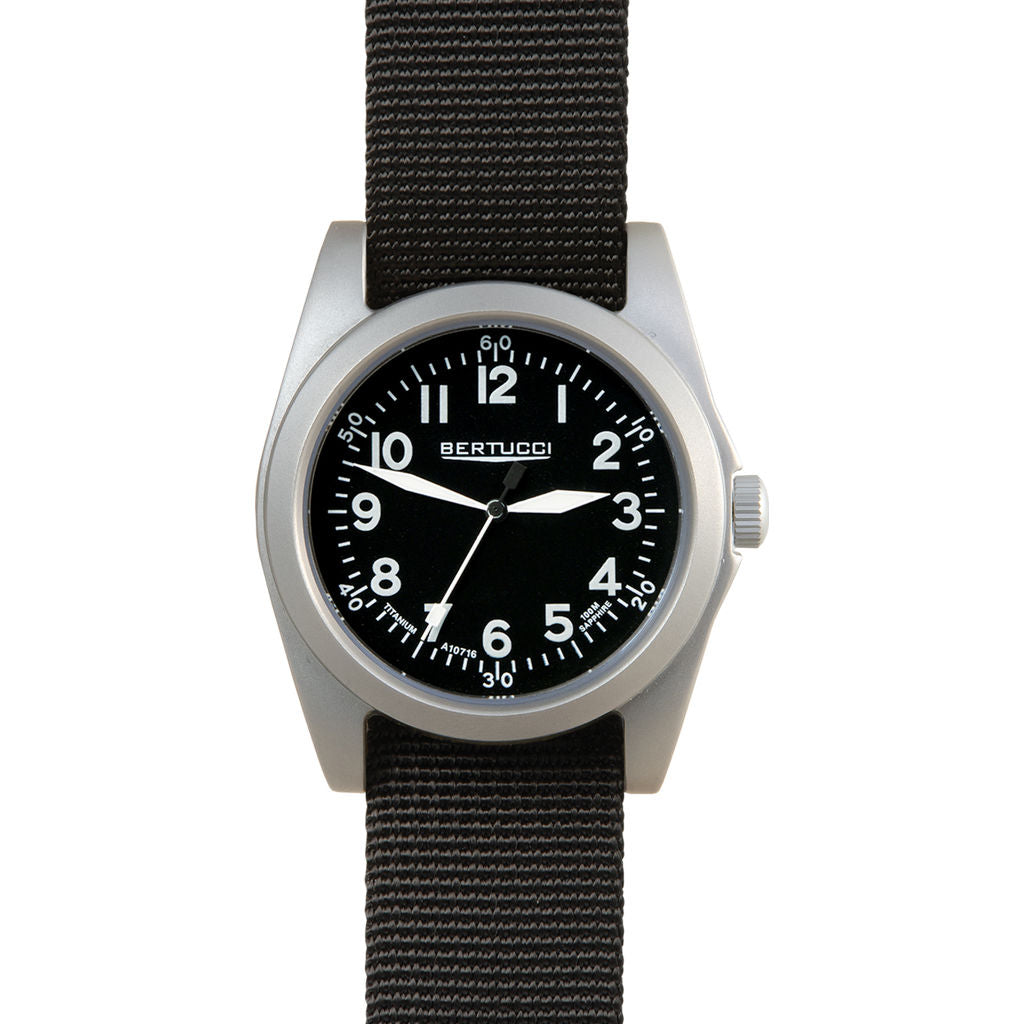 Bertucci A-3T Navigator Black Watch | Black Band