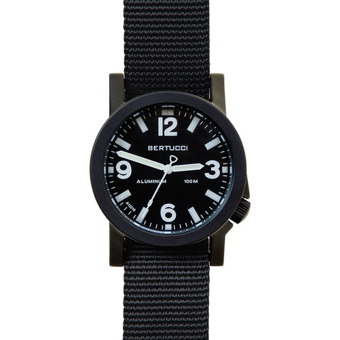 Bertucci A-6A Experior Field Watch | Black/Black 16500