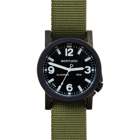 Bertucci A-6A Experior Field Watch | Black/Forest 16501