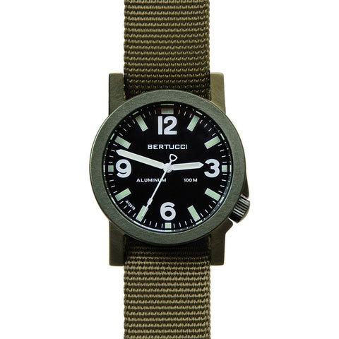 Bertucci A-6A Experior Field Watch | Black/Olive/Olive 16504