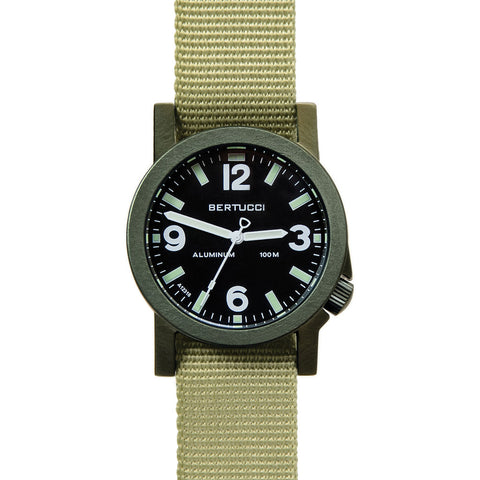 Bertucci A-6A Experior Field Watch | Black/Olive/Patrol Green 16505