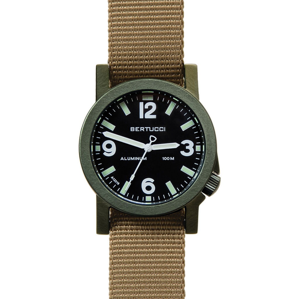 Bertucci A-6A Experior Field Watch | Black/Olive/Coyote 16506