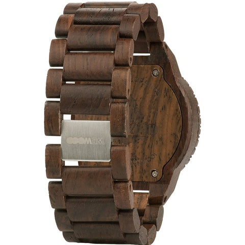 WeWood Beta Indian Rosewood Wood Watch | Chocolate