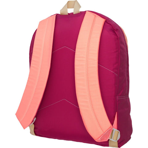 Mokuyobi Big Pocket Backpack | Coral/Berry
