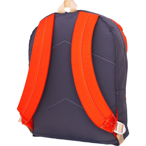 Mokuyobi Big Pocket Backpack | Orange/Charcoal