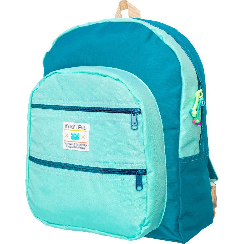 Mokuyobi Big Pocket Backpack | Mint/Jade