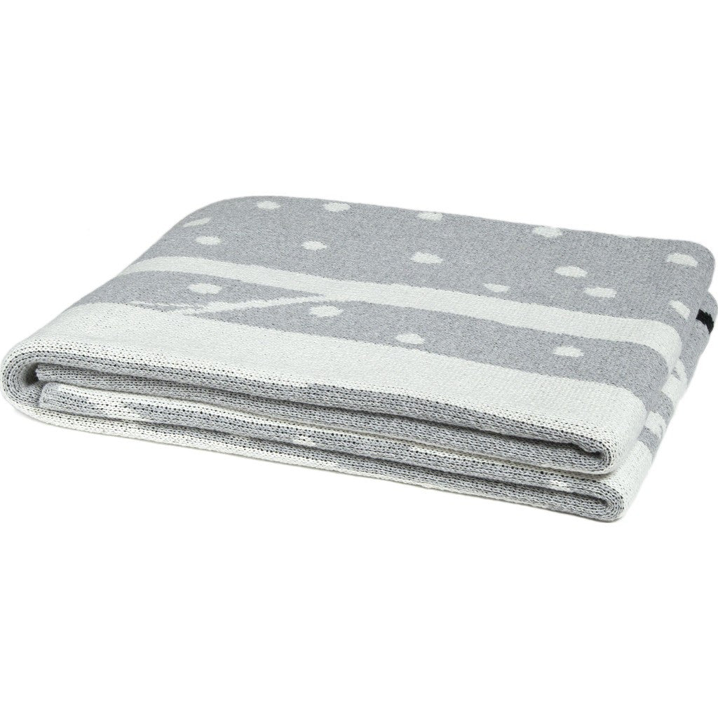 in2green Birch Snowy Tree Eco Throw | Aluminum BL01BI5