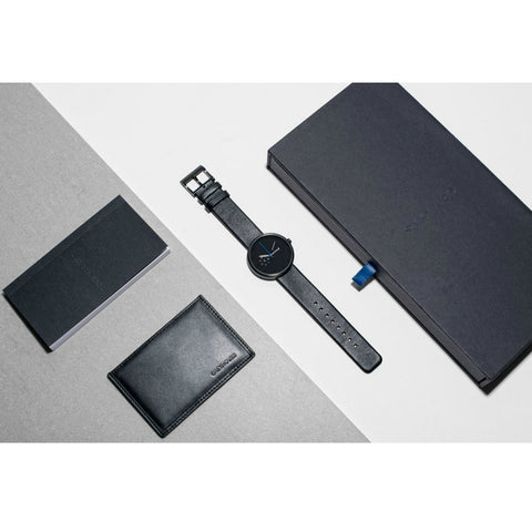 Greyhours Essential Dark Hours Watch | Black ESSENTIALBLACK01