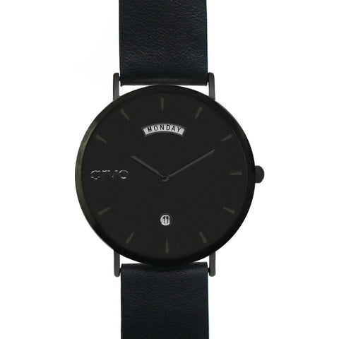 Arvo Black Awristacrat Watch | Black/Black AWBKBK40 40MM