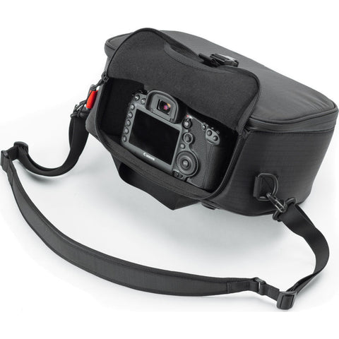 Black Ember DSLR Cube NO4 Camera Bag | Jet Black