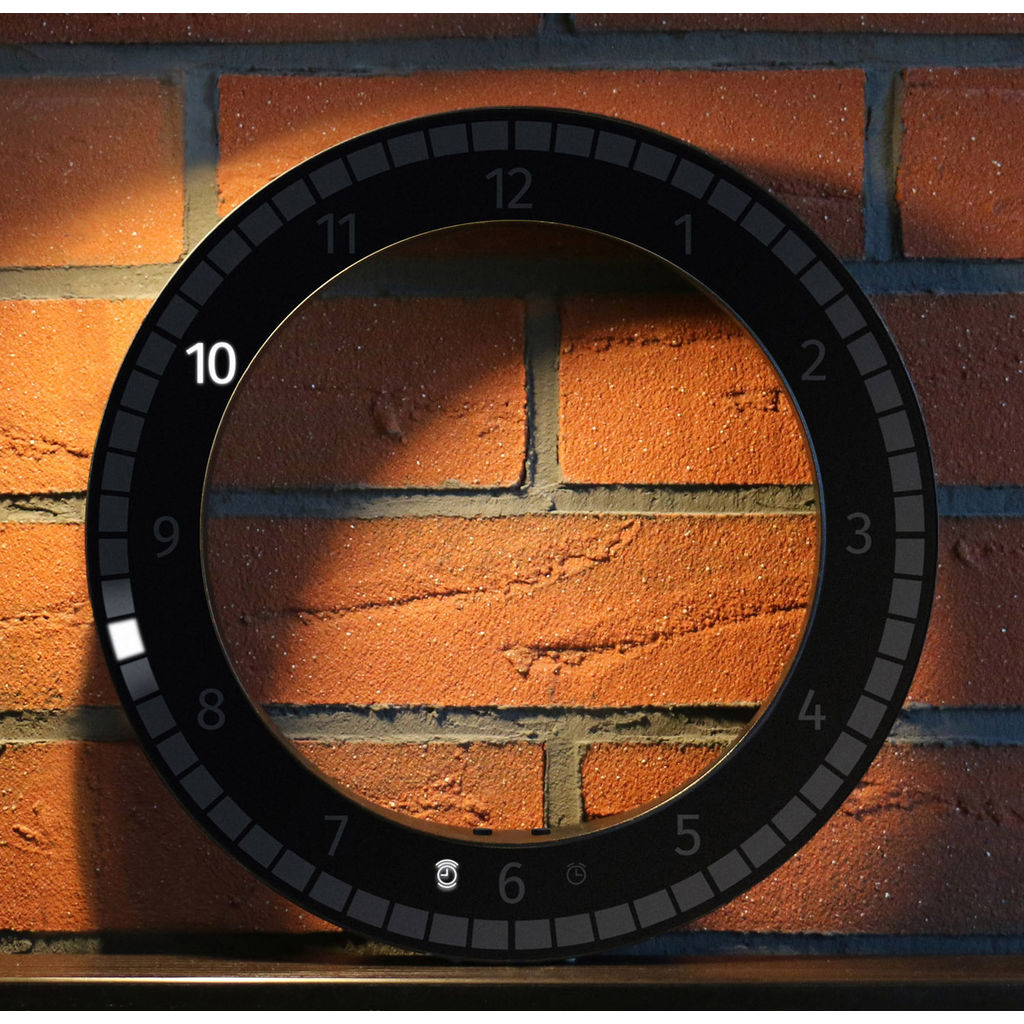 Kibardin The Only Clock | Black/Black