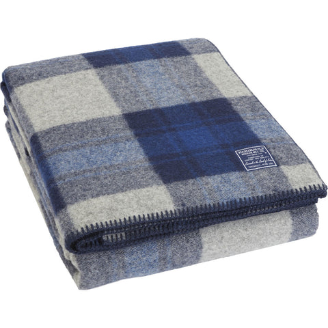 Faribault Foot Soldier Military Wool Blanket/Throw | Defender Plaid