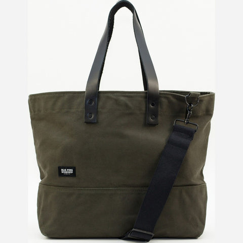 Blk Pine Classic Canvas Medium Tote Bag | Olive