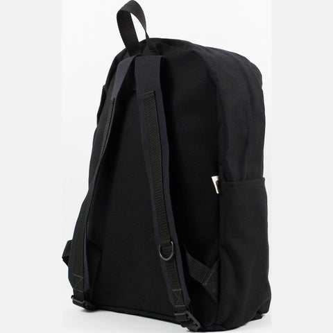 Blk Pine Canvas Utility Daypack Backpack | Black
