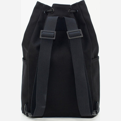 Blk Pine Small Canvas Utility Cinch Pack Backpack | Black