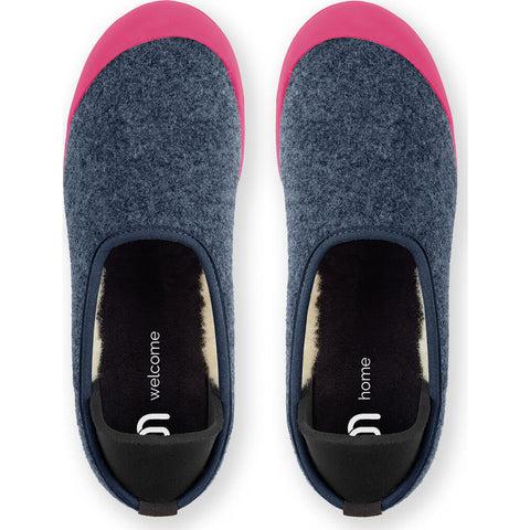 Mahabis Curve Classic Slippers | Malmo Blue/Pink