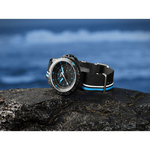 traser H3 Blue Infinity Watch | Textile Strap 105545