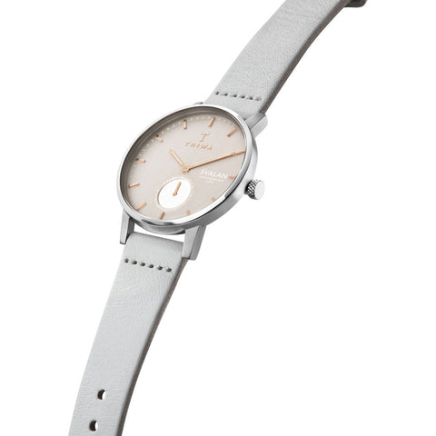 Triwa Blush Svalan Watch | Light Gray Super Slim SVST102-SS111512