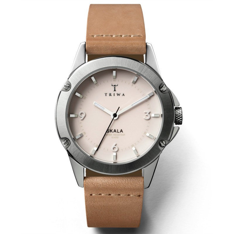 Triwa Blush Skala Watch | Tan Slim Classic