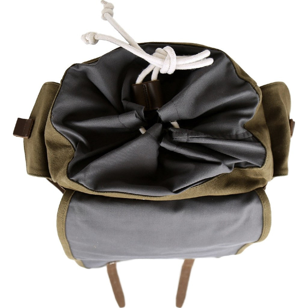 Sandqvist Bob Backpack | Waxed Olive