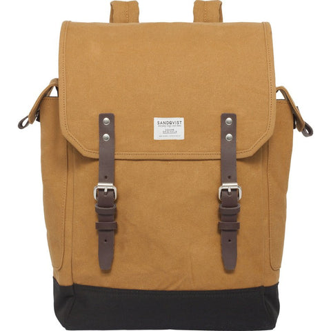 Sandqvist Bob Backpack | Waxed Khaki
