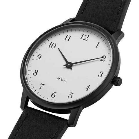 Projects Watches Bodoni 40mm Watch | Black/Black 7401-40