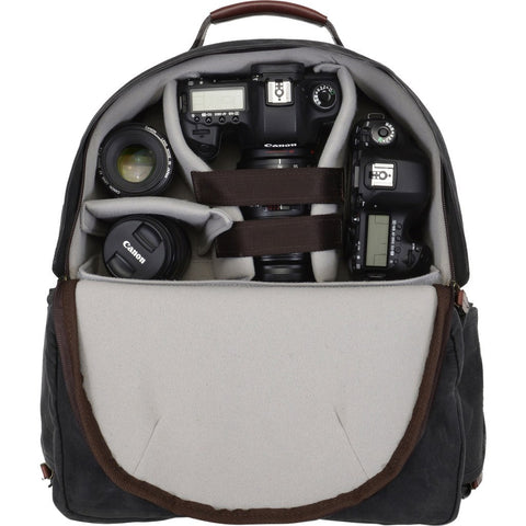 Ona Bags Bolton Street Camera Backpack | Black ONA5-022BL
