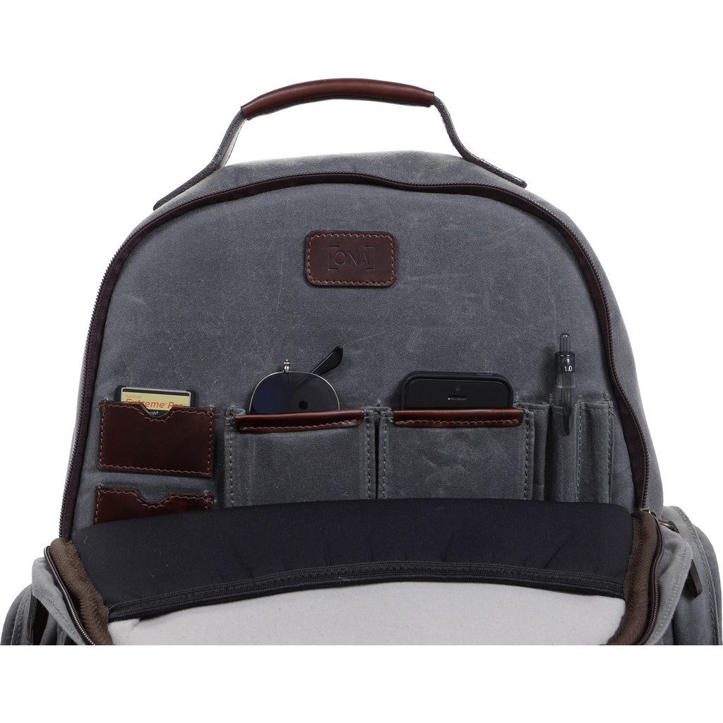 ONA Bolton Street Camera Backpack | Black