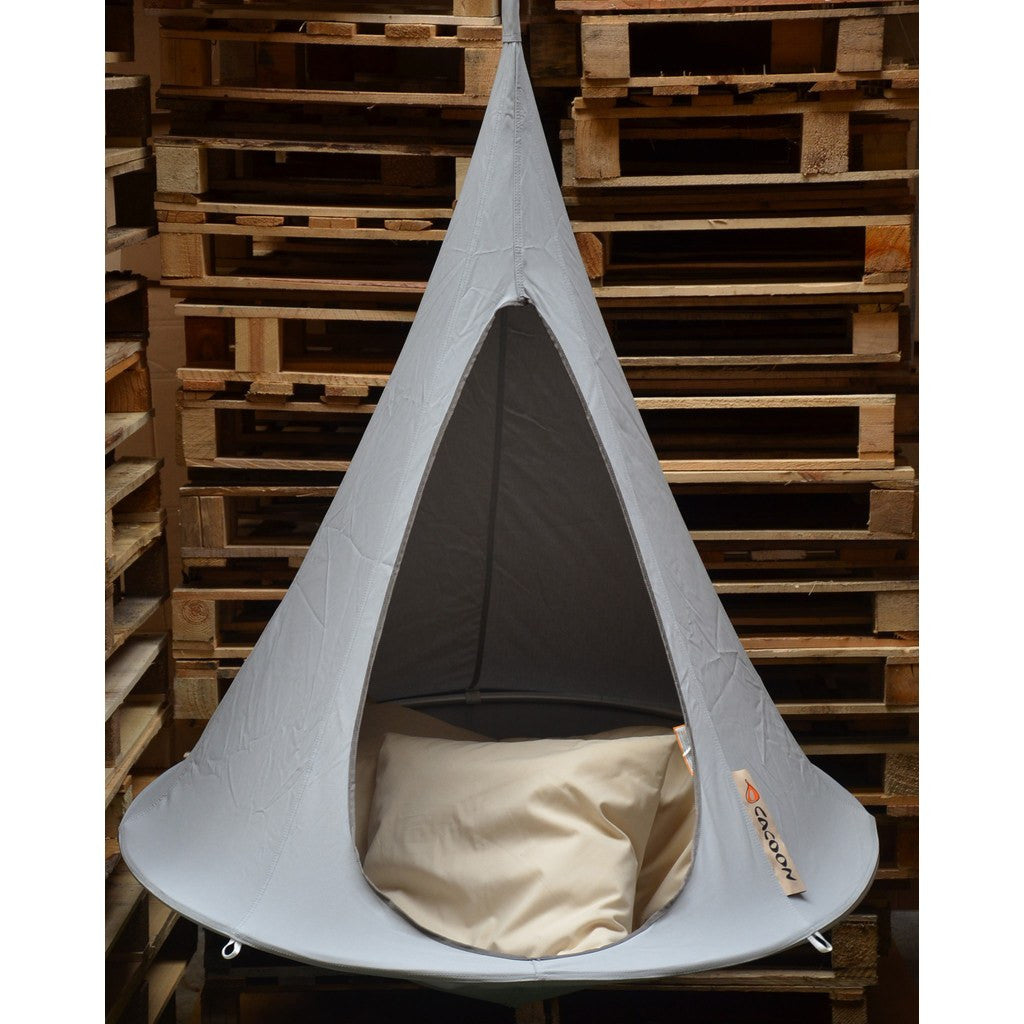 Cacoon Bonsai Children's Hanging Hammock | Light Grey BY006