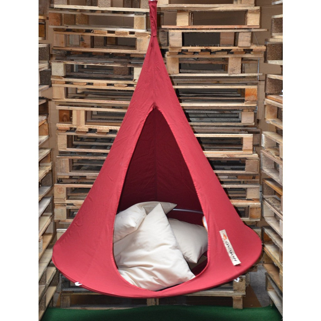Cacoon Bonsai Children's Hanging Hammock | Chili Red BR005