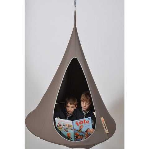 Cacoon Bonsai Children's Hanging Hammock | Deep Taupe BT007