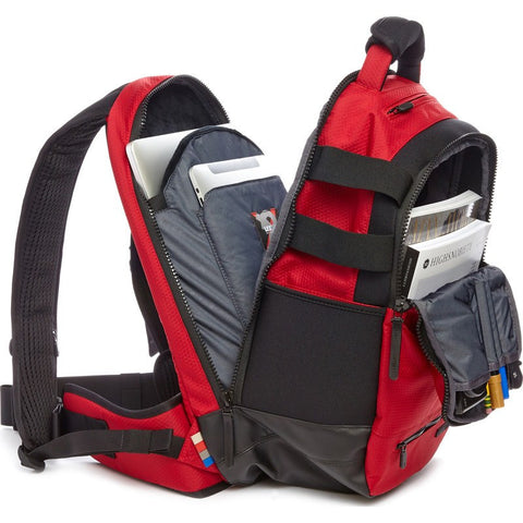 Lexdray Boulder Pack Ltd. Packcloth Backpack | Red 15114-RPC-SE